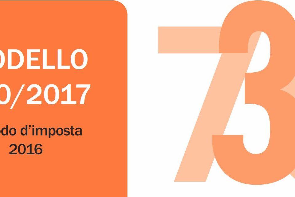 Disponibile il modello 730 2017 e relative istruzioni for Novita 730 2017